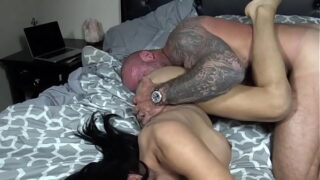 Jessy Dubai Gets Fucked by a Muscular Stud