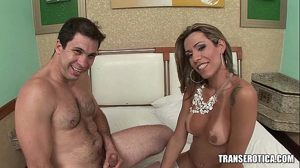 Tall Shemale Mistress Gets Barebacked by her Man